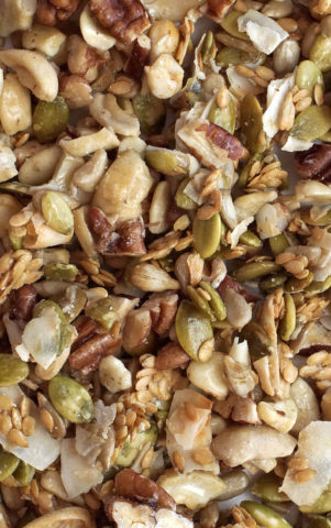 Low Carb Cereal - Original Pecans Cashews